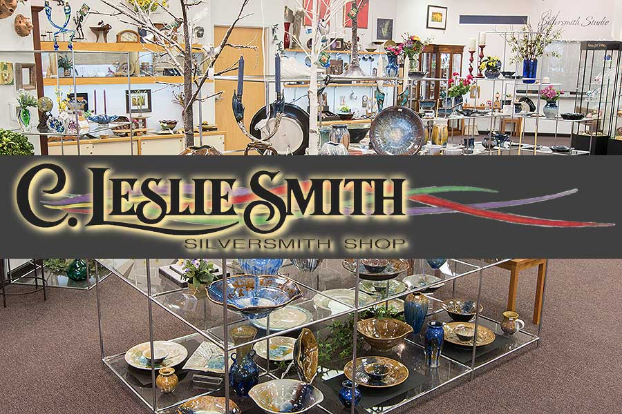 WHOLESALE & RETAIL — silversmith studio and gift gallery — C. Leslie Smith