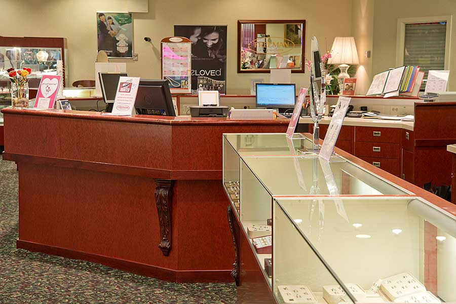 WHOLESALE & RETAIL — fine jewelry store — Freeman Jewelers