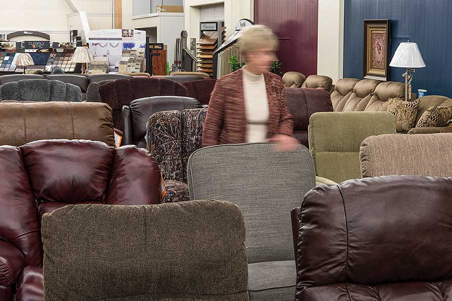 WHOLESALE & RETAIL — home furnishings — Hager Furniture