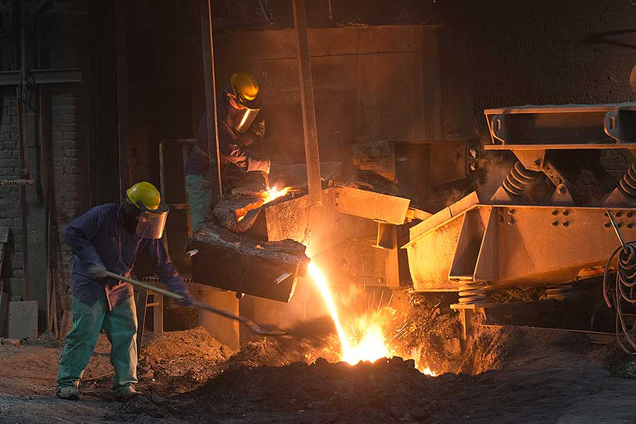 MANUFACTURING — heavy steel foundry — UnicastMANUFACTURING — heavy steel foundry — Unicast