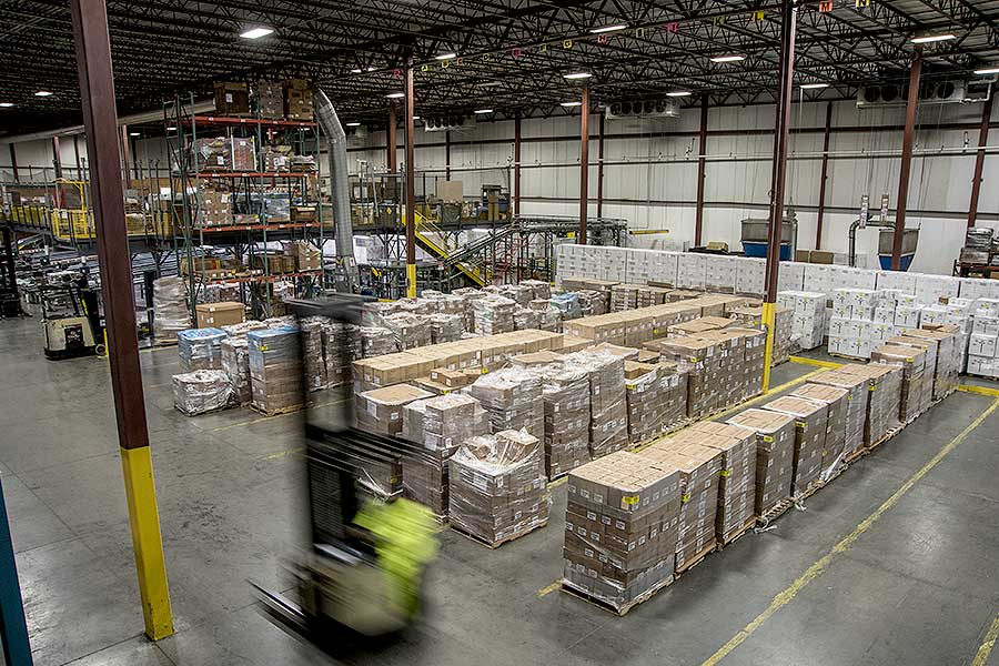 DISTRIBUTION — customized storage and distribution — OCS Logistics