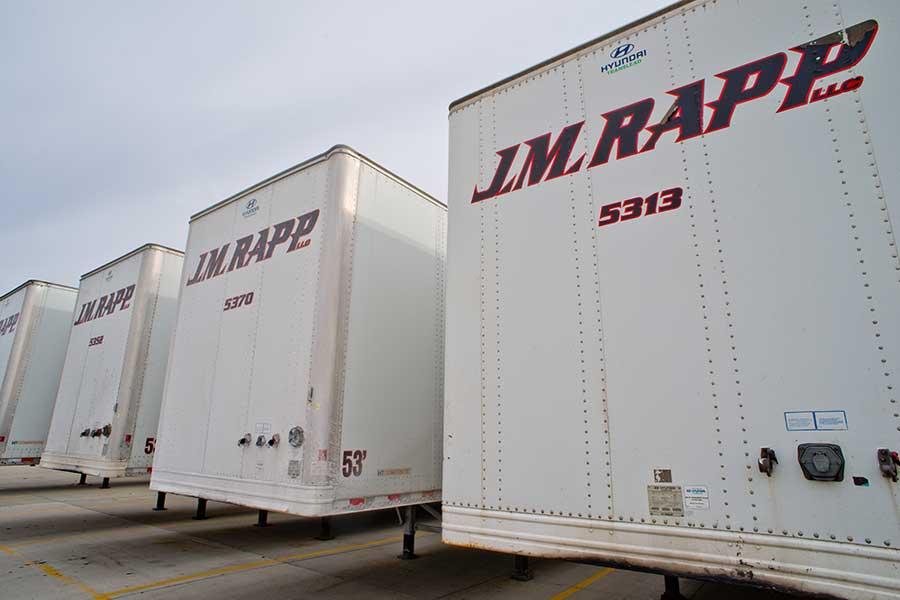 DISTRIBUTION — transport company — JM Rapp