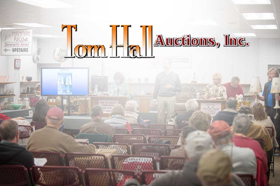 PROFESSIONAL SERVICES — auction marketing — Tom Hall Auctions