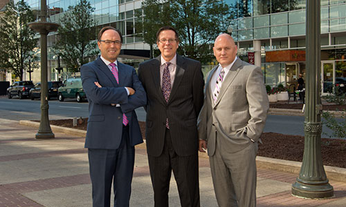 <p>Miller<em>Searles</em> partners on the street in dynamic downtown Allentown.</p>