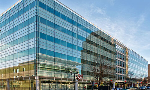 <p>Our new home in the Butz Corporate Center, downtown Allentown.</p>
