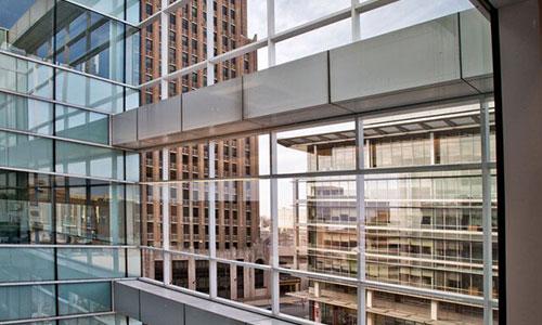 <p>The beautiful architecture of Butz Corporate Center.</p>